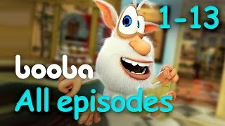Booba - All 13 Episodes Compilation - Cartoons for kids @KEDOO ANIMATIONS HD