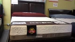 Stratford Hrdwood Leather Panel Bed Frame Sale ! Regulard Price $999.00 Now Only $599.00 Qn