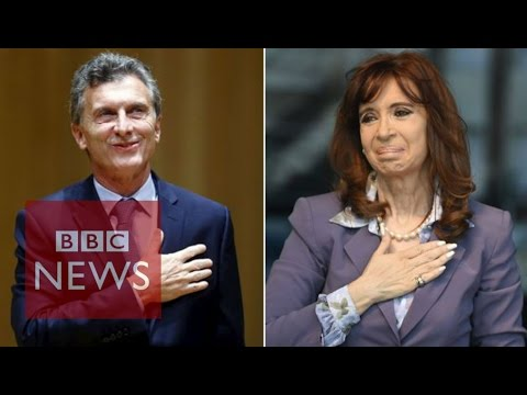 Argentina's power handover squabble - BBC News