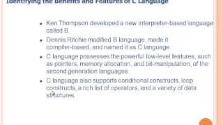 C Programming Language Basic