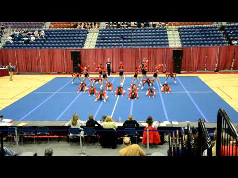 Wells High School - Western Maine Cheerleading Conferences - January 29, 2011
