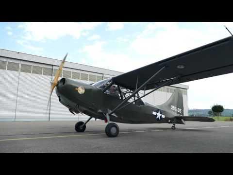 Commemorative Air Force Swiss Wing / Stinson L-5 Sentinel