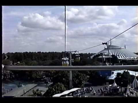 Skyway To Tomorrowland Ride-through 1991