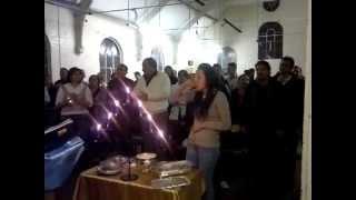 Romani Khangery Zoe Derby Bohoslužba 16.12.2012 Panova večera a Modlitby za Chorych