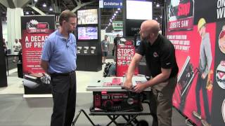 Sawstop Jobsite Saw - Awfs 2015