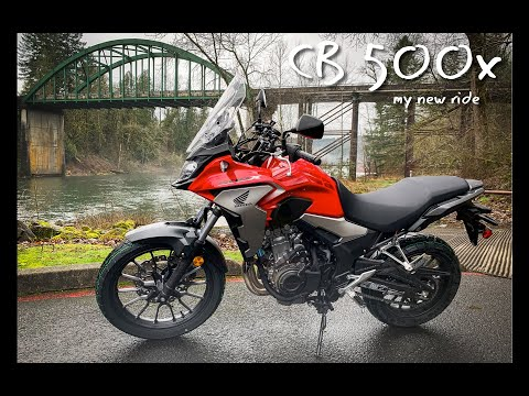 2019 Honda CB500x | My New Ride for 2020 | Oregon Motorcycle