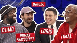 Djimo x Roman Frayssinet VS Loris x Timal : quarts de finale   Betclic