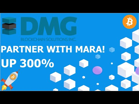 DMG BLOCKCHAIN PARTNER WITH MARA! UP 300% ALREADY! BEST Penny Stock to Buy Now – Bitcoin Miner DMGGF