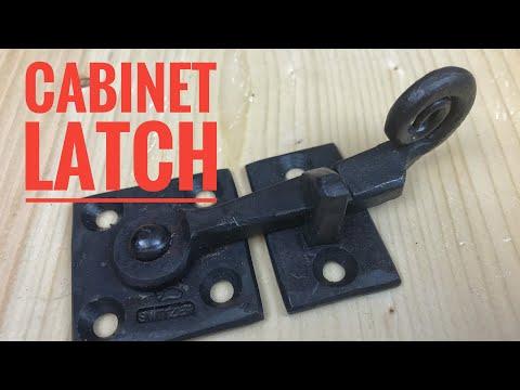 forging-a-cabinet-latch
