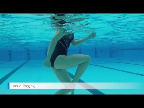 How to do aqua jogging