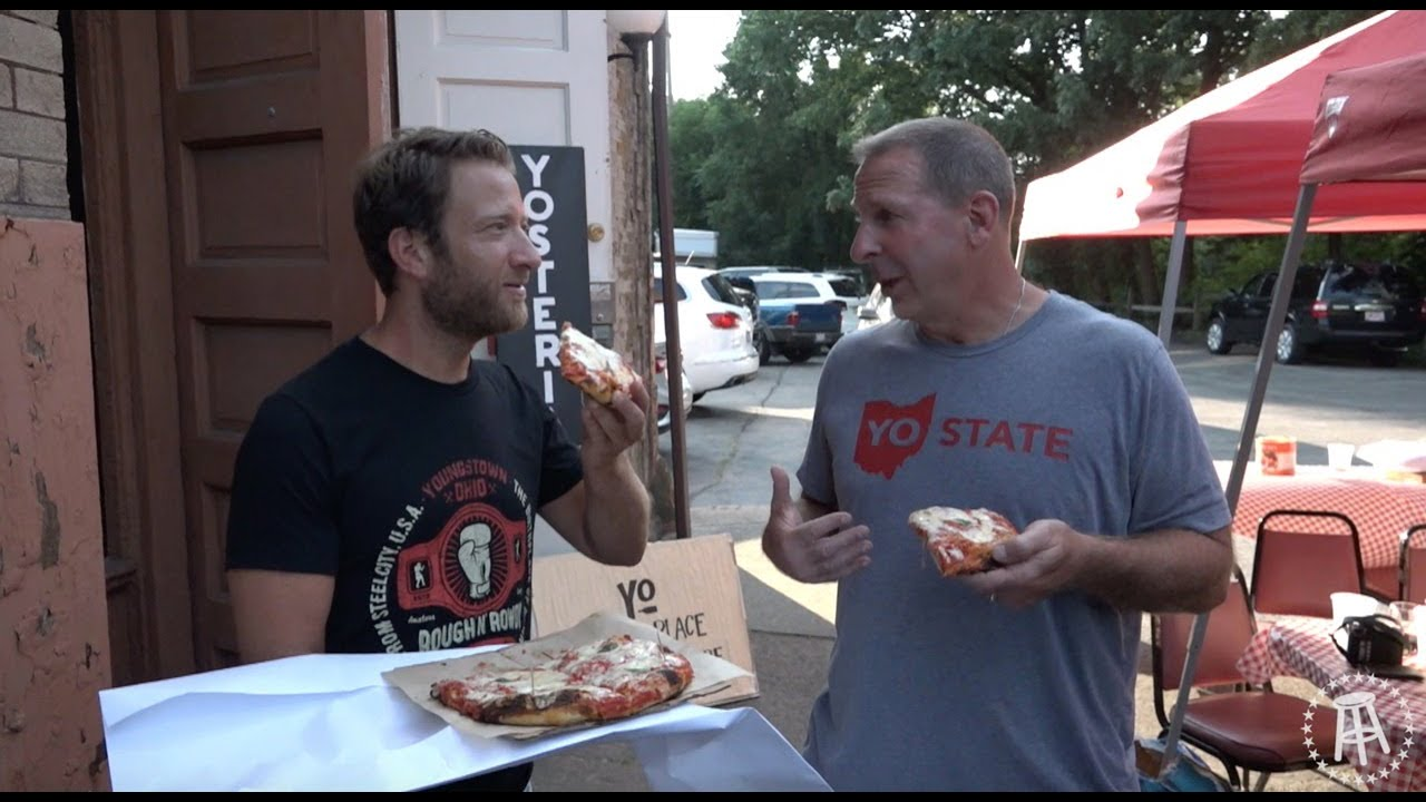 Barstool Pizza Review - Yosteria With Special Guest Bo Pelini