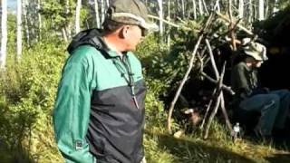 Hikers Forced To Build Shelter