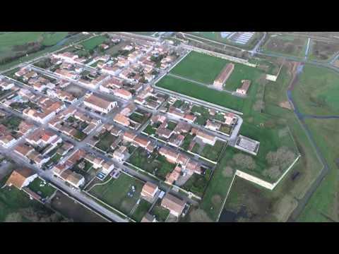 Montage drone Brouage