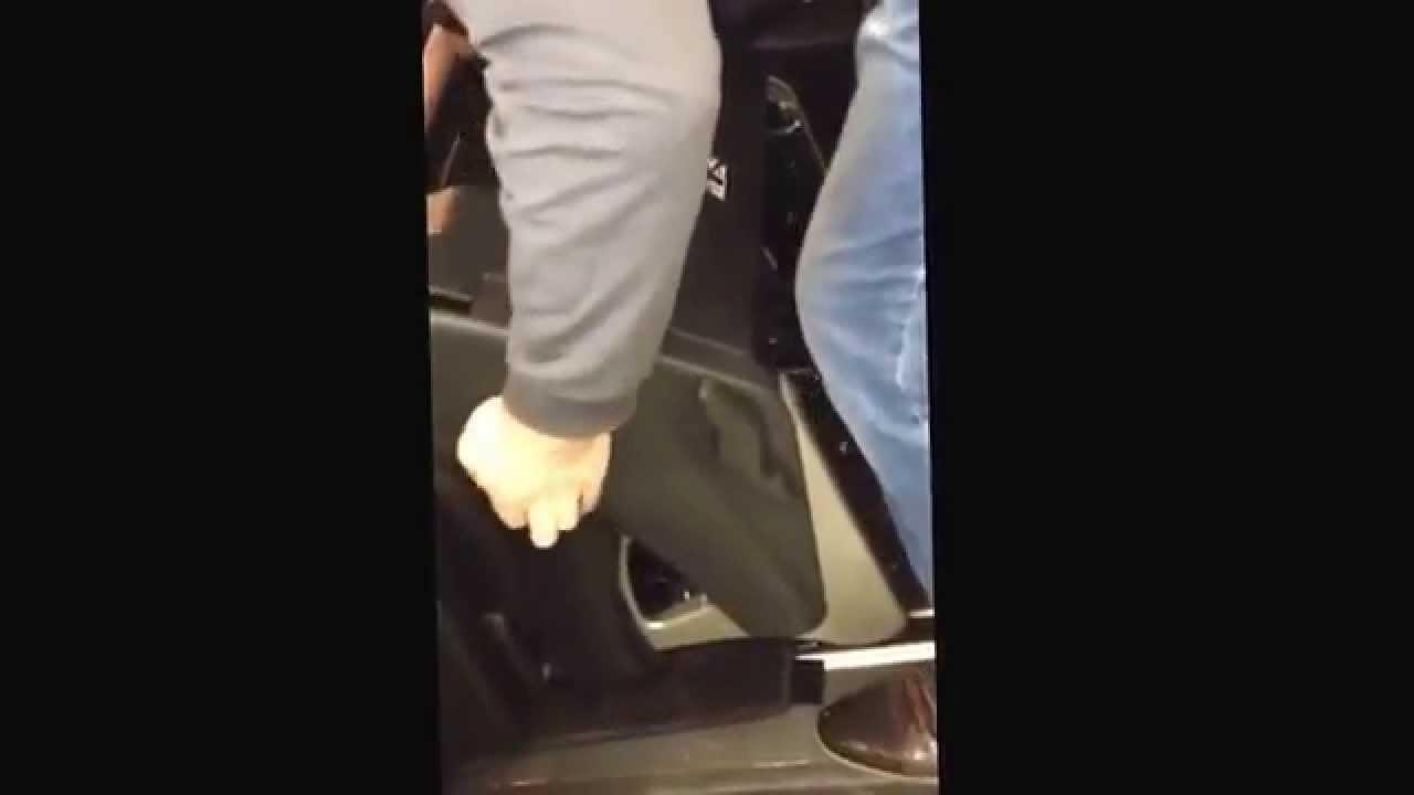 Перестановка сидения на Mercedes Viano - YouTube