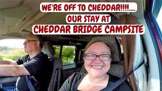 Cheddar Gorge campervan Trip. Cheddar Bridge Campsite. Nov- 2017.