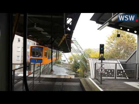 [10 Hours] Wuppertal Suspended Monorail - Video & Audio [1080HD] SlowTV