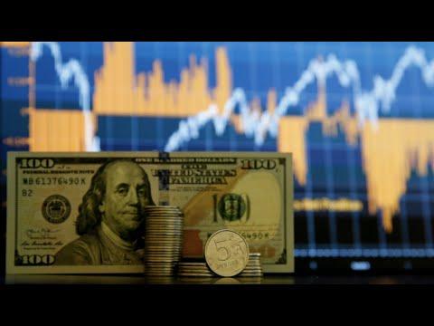 Видео: Курс доллара превысил 75 руб. Новый обвал на фондовом рынке в России. Главное