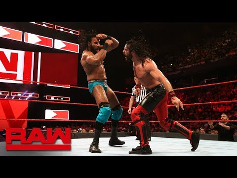 Seth Rollins vs. Jinder Mahal - Intercontinental Championship Match: Raw, May 28, 2018