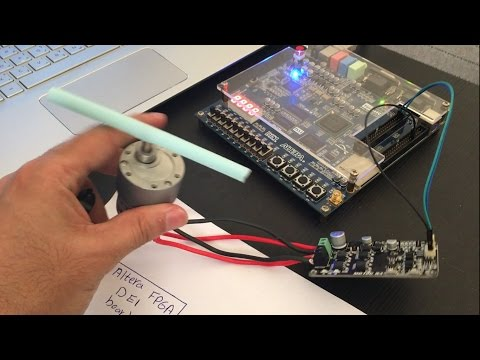 FPGA Project: Controlling A Gear DC Motor With FPGA