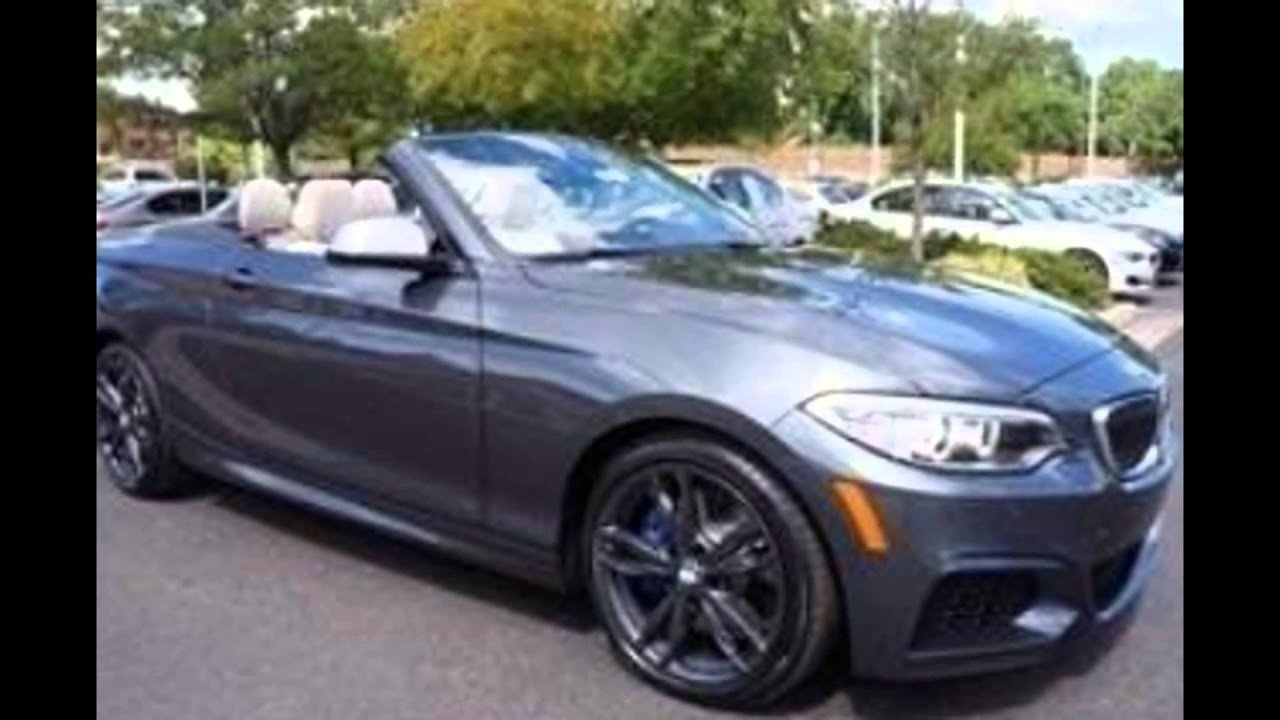 Bmw 428i Convertible 2017 >> 2016 BMW 435i Convertible Mineral Grey Metallic - YouTube