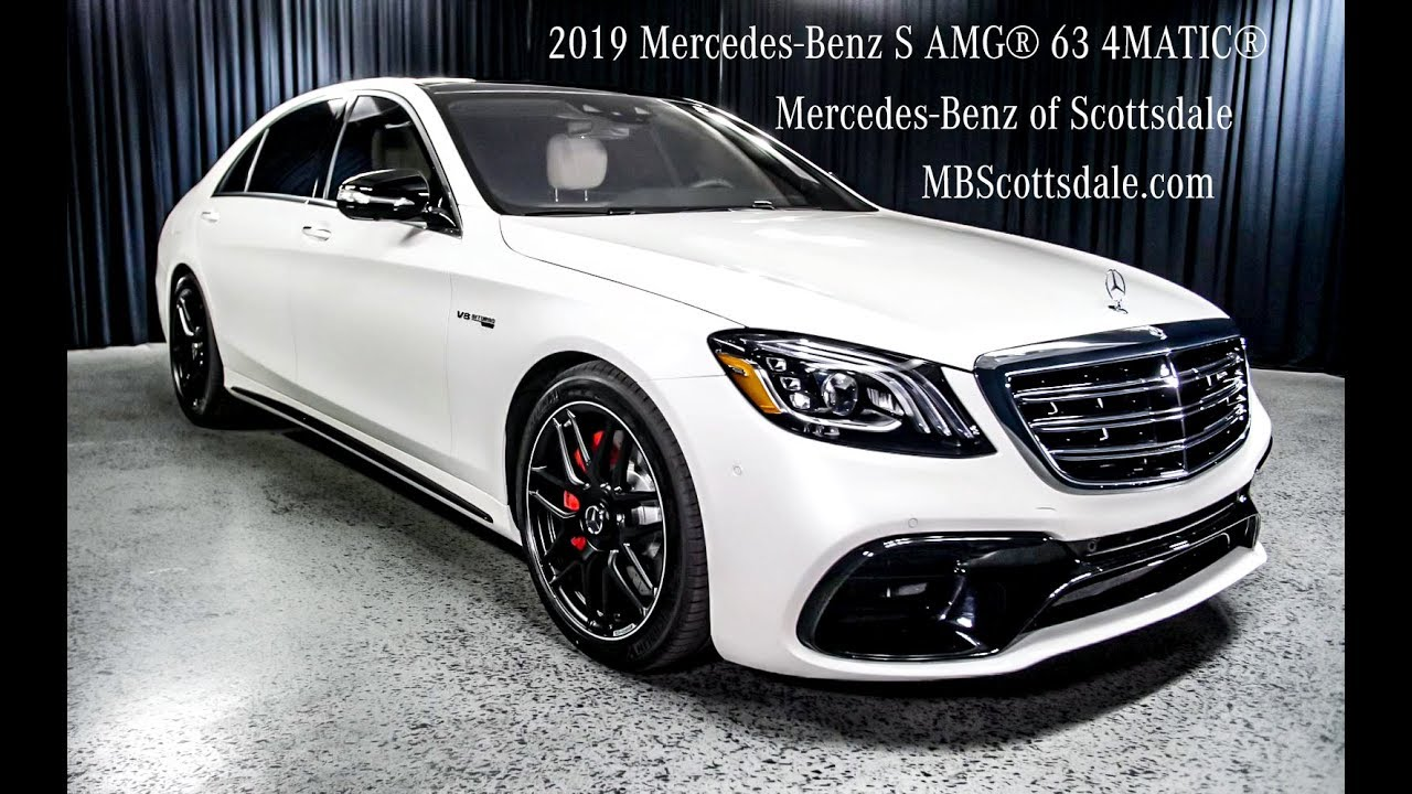 2019 Amg S63 Flagship 2019 Mercedes Benz S Amg 63 4matic