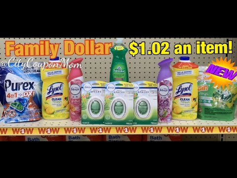 Family Dollar | Couponing This Week! 1/26 - 2/1 | ALL DIGITALS - $1 An Item!!!!