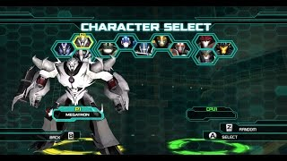 Transformers: Prime. The game. Megatron G1 style.
