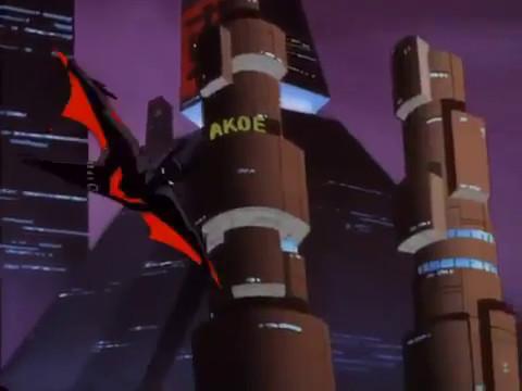 Batman Beyond Terry steals the batsuit