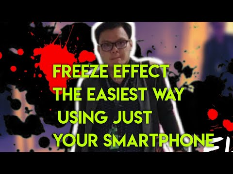 FREEZE EFFECT THE EASIEST WAY TUTORIAL USING KINEMASTER thumbnail