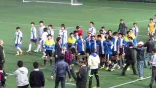 聖言vs聖若瑟英中 2013 11 28 d2學界足球甲組決賽 精華