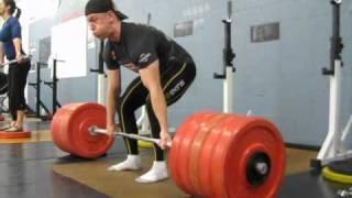 Deadlift 500 lbs @ bodyweight 168 lbs