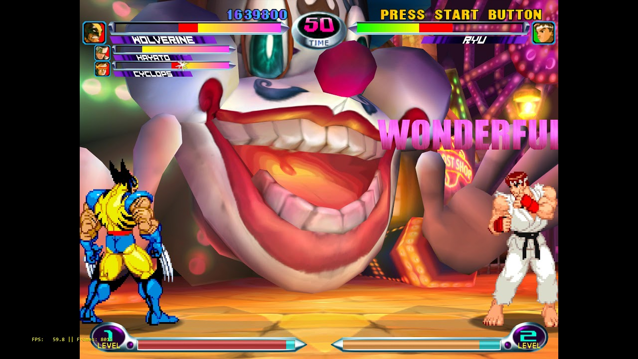 naomi emulator marvel vs capcom 2