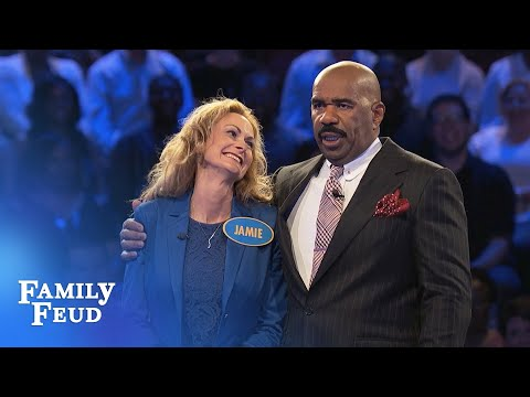 Jamie & Jay wanna get PAID! | Family Feud