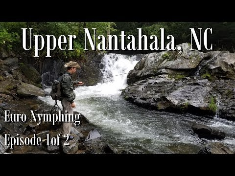 WBD - Euro Nymphing / Tightlining  The Upper Nantahala NC Episode 1