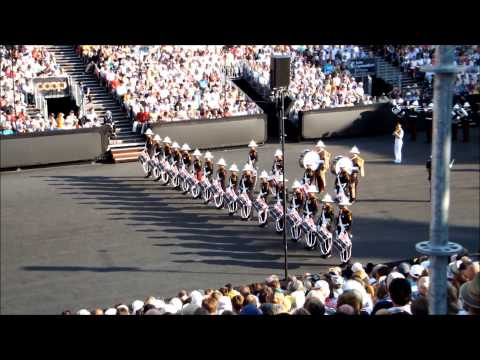 H.M. Royal Marines Band - Basel Tattoo, 25-07-2013