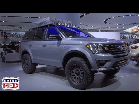 "If You Like the Raptor, You'll Love Ford's 2018 Expedition ""Baja Forged Adventurer"""