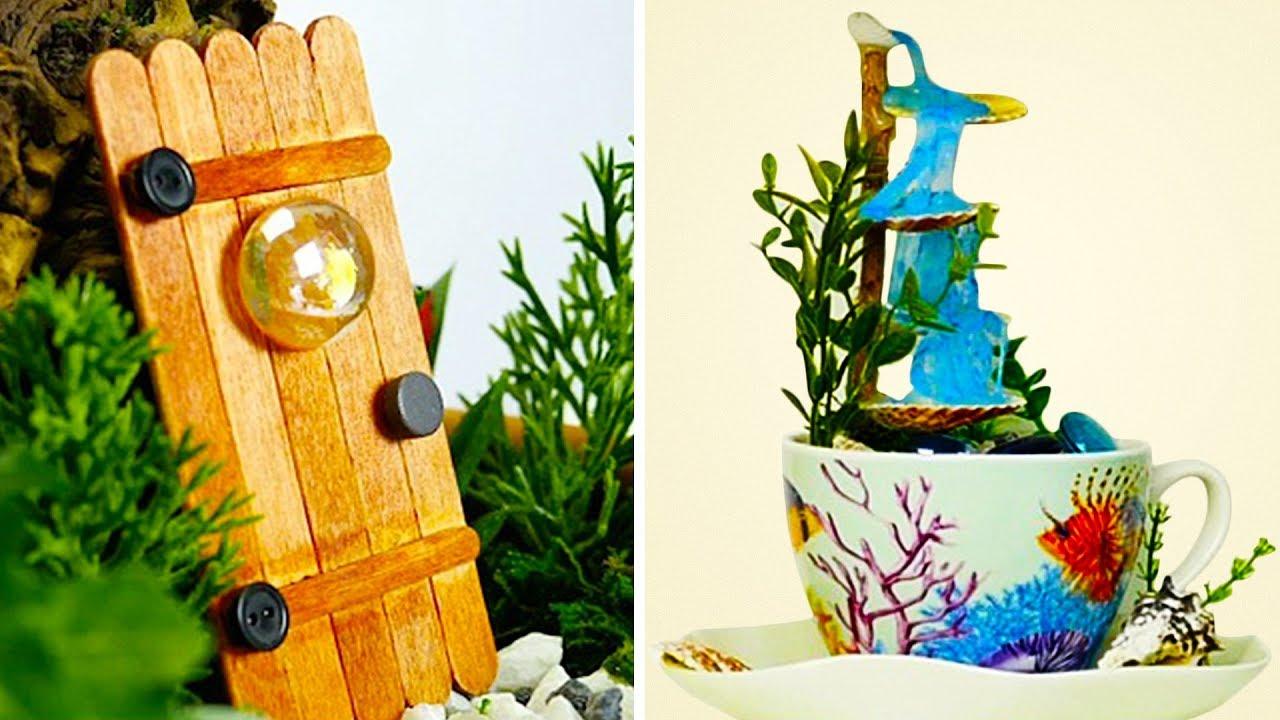 22 Cute Diy Ideas For Your Garden Youtube
