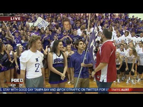 Pep Rally: River Ridge High School