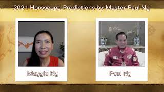 2021, Year of Metal OX, Zodiac Prediction, RAT people, Feng Shui Master, Paul Ng,  Toronto, Canada