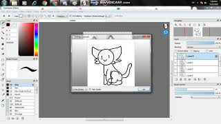 animation on firealpaca