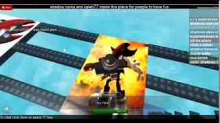 roblox game:shadow the hedgehog obby part 2