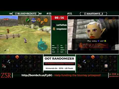 Ocarina of Time Randomizer `Tutorial` Run by Bl00dyBizkitz