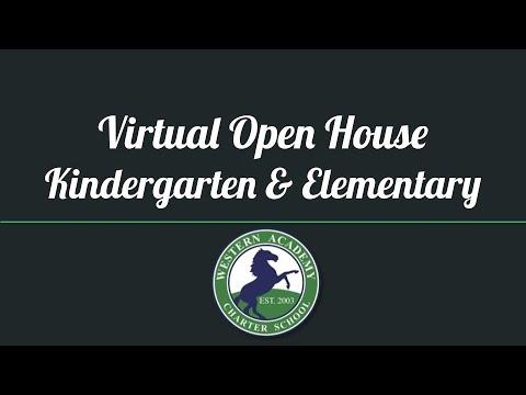 Western Academy's Virtual Open House