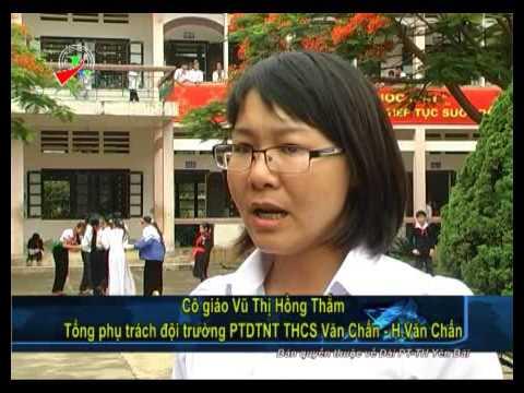 Đài phát thanh   truyền hình Yên Bái   Văn hóa xã hội  Văn Chấn nâng cao công tác đội trong trường h