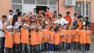 Adanasporluların Camili Akarca İlköğretim Okulu Ziyareti