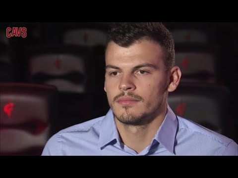 Cleveland Cavaliers Exclusive 1on1 with Ante Zizic    NBA    Sep, 10th 2017