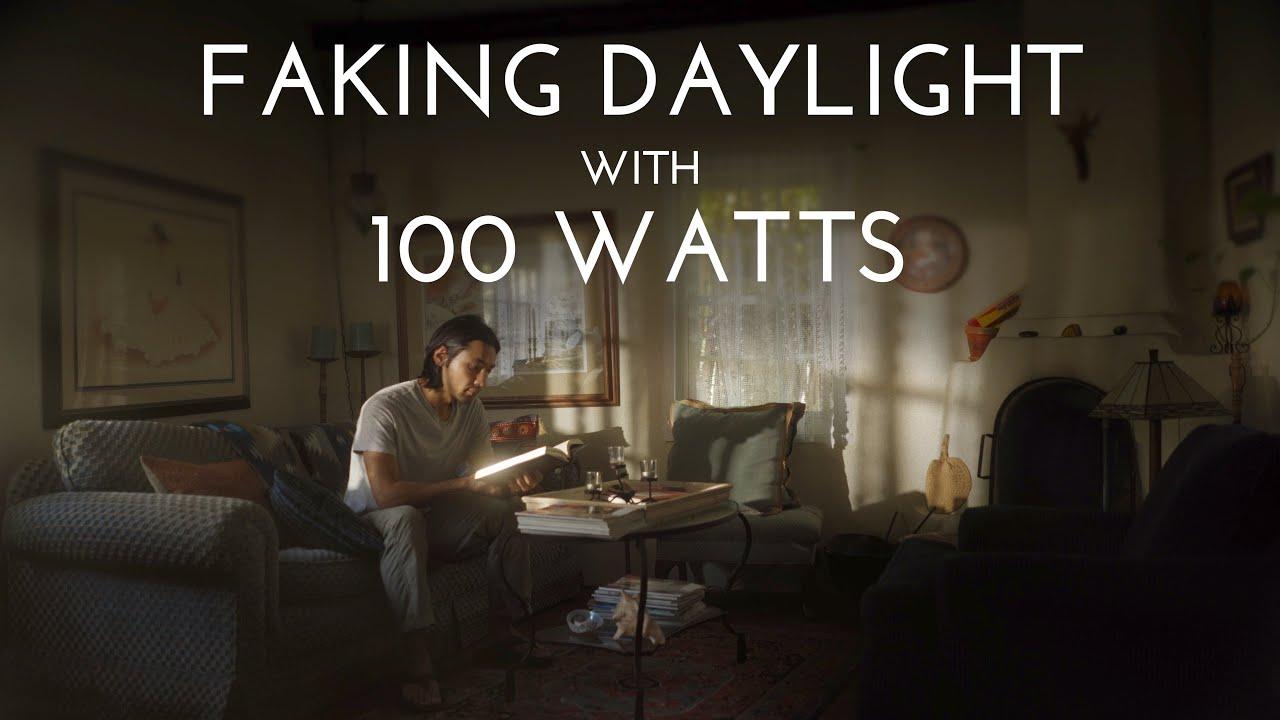Is 100 Watts Enough to Create Fake Daylight? [Intellytech X 100]