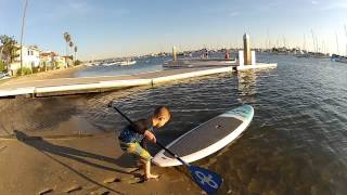 VESL SUP KIDS PADDLE BOARD - DURABLE & LIGHT WEIGHT