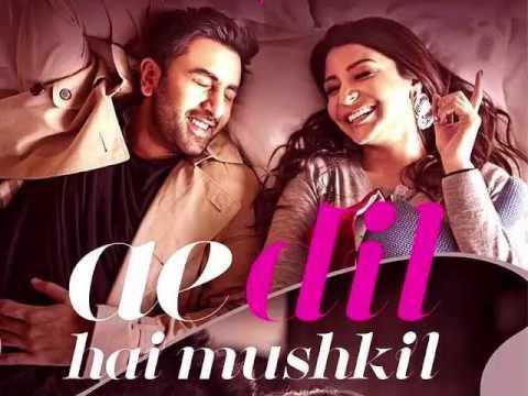 Ae Dil Hai Mushkil Karaoke With Lyrics thumbnail