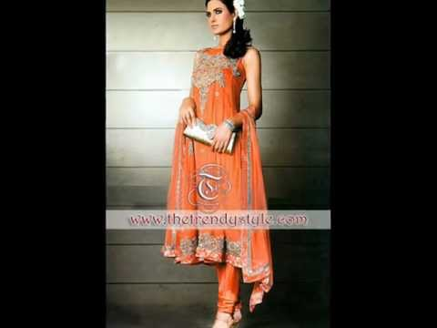 Pakistani Indian Trendy Dresses Fashion Show By The Trendy Style